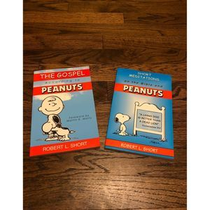 Peanuts Bible Meditations/Gospel Books New
